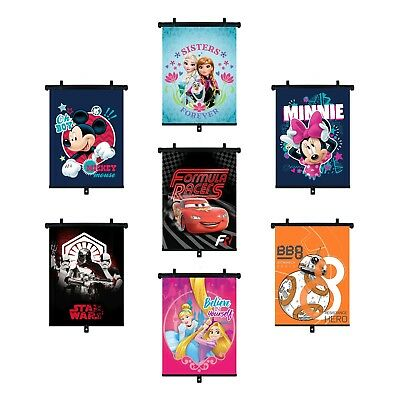 Large Disney Car Window Baby Sun Shades Protectors 36x45cm Minnie Mouse Cars