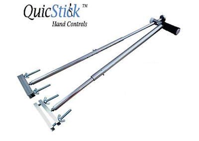 QuicStick Hand Controls Disabled Driving Handicap Aid Equipment