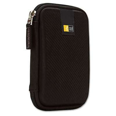 Case Logic® Portable Hard Drive Case, Molded EVA, Black 085854221467