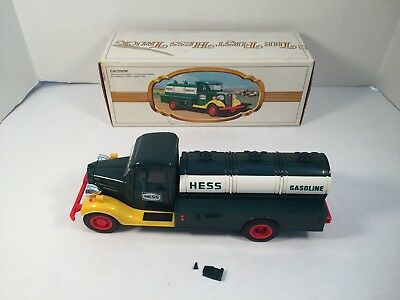 1980 First Hess Truck Toy Vintage Box READ