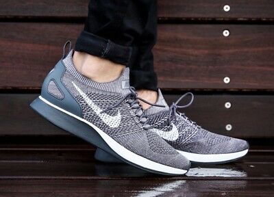 76eb26aa4f0b0 Nike Air Zoom Mariah Flyknit Racer 918264-009 Grey White Men s Lifestyle  Shoes