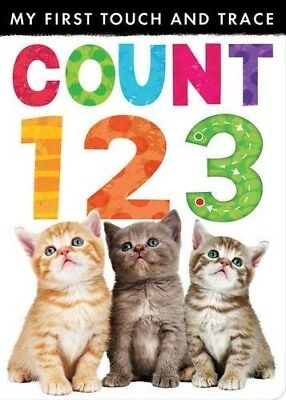 My First Touch and Trace: Count 123, New Books
