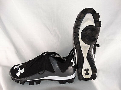 Under Armour Leadoff Low Baseballschuhe Cleats 1250077-001 schwarz EU 42,5 US 9