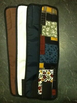 4pk Male Dog Diaper MULTI, NAVY BLUE, BROWN, WHITE Belly Band Sz XS-XL