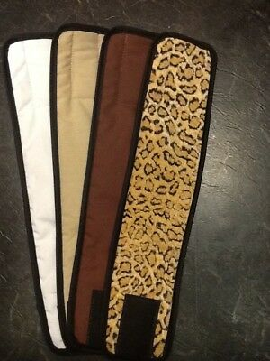 4pk Male Dog Diaper CHEETAH, TAN, BROWN, WHITE Belly Band Sz XS-XL