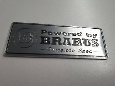 BRABUS Mercedes Badge Complete Spec Badge W210 W204 E55 C63 CLS CLK W202 G55