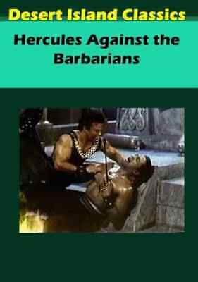 Hercules Against the Barbarians NEW DVD