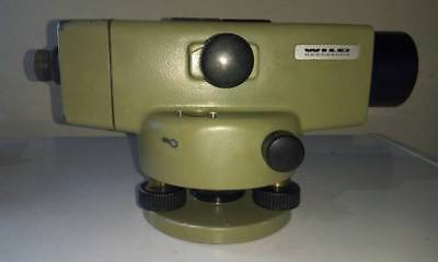 WILD LEICA NA2 WITH FOIF MICROMETER PLATE FS1. High Accuracy Precision