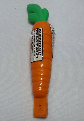 1998 Playmates AMAZING AMY Interactive Doll CARROT Replacement Accessory