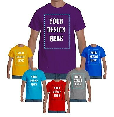 Personalized Custom T Shirt - with Photo & Text or Logo made - Custom Printed