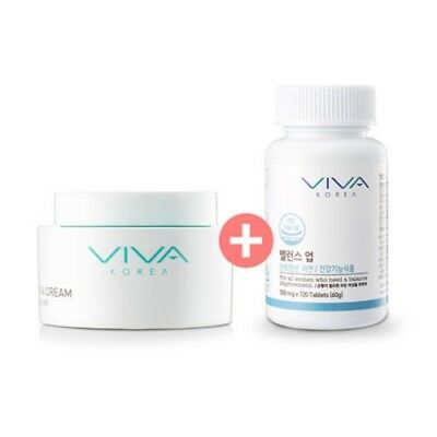 New Beauty VIVA Breast cream 100ml + Balance up 62g Breast Enlargement Volume Up