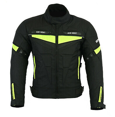 New Men's Motorbike Cordura Waterproof CE Armours Textile Jackets