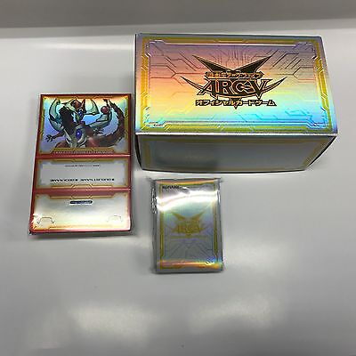 Yugioh  Deck Case & Storage & Sleeve set : Dimension Box Limited(DBLE) Japan F/S