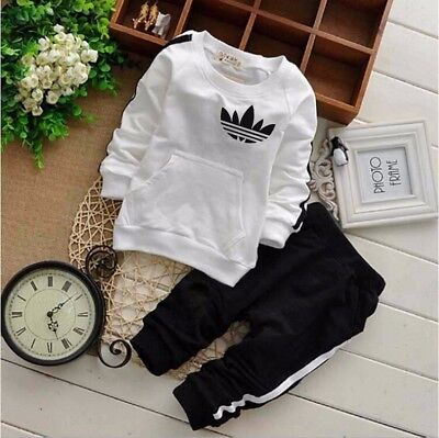 BABY Boys Girls hooded THIN SET 2 pcs tracksuit clothing set outfit 6-36 month