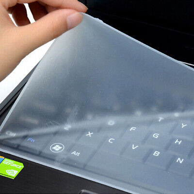 """Protector Cover Universal Laptop Silicone Keyboard Skin for 10"""" 14"""" 17"""" Clear"""