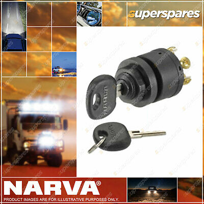 Narva 3 Position Ignition Switch Marine With Push For Choke Function 64008
