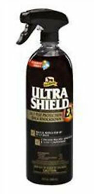 Ultra Shield EX Weatherproof Fly Spray ULTRASHEILD 32 oz Equine Dogs Sunscreen