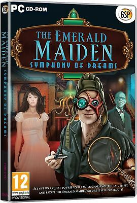 the Emerald Maiden Symphony of Dreams bonus Mirror Mysteries Game PC CD NEW