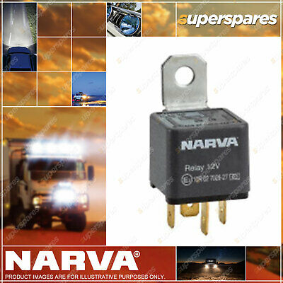 Narva 12 Volt Normal Open Relay 4 Pin 50 Amp 68008