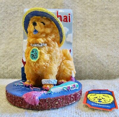 Claire's Chow Chow - Uniquely Depicts Its City - Shanghai - 2002 - Brand New