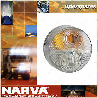 Narva Clear Lens To Suit 87280 Front Direction Indicator Lamp Clear 12V 87285