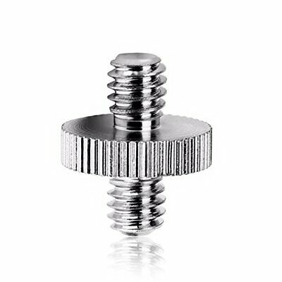 "1/4""-20 Male to 1/4""-20 Male Threaded Screw Adapter Tripod Screw Converter"