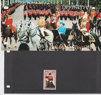 Isle of Man Presentation Pack 1990 New £2 Definitive 10% off 5