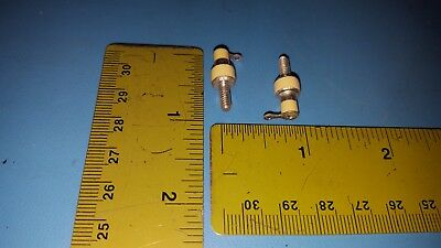 Ceramic Insulator, 14/16 Inch, 22mm, Lot of 10 Pcs