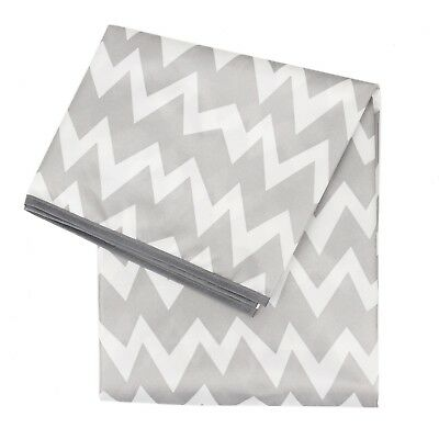 Bumkins Waterproof Splat Mat, Gray Chevron
