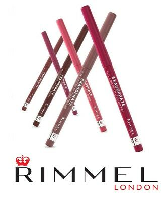 Rimmel Exaggerate Automatic Lip Liner 5 Shades Available