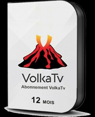 Volka Iptv Abonnement 12 Mois Android/smart/mag/icone/7Star