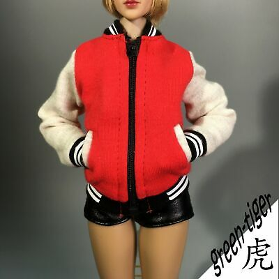 [ NEW COLOR SERIES ] 1:6 Scale Female Action figure Baseball Suit  Jacket Only