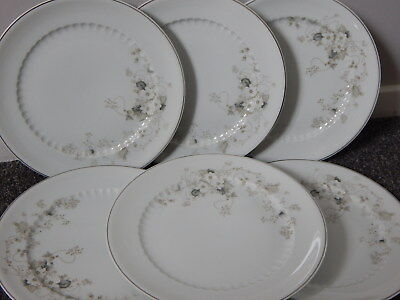 Fiesta Princess House White Blossom 6 10\u201d Dinner Plates Porcelana Real Brasil & FIESTA PRINCESS HOUSE White Blossom 6 10\u201d Dinner Plates Porcelana ...