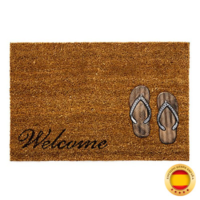 Felpudo Original Welcome Sandalias