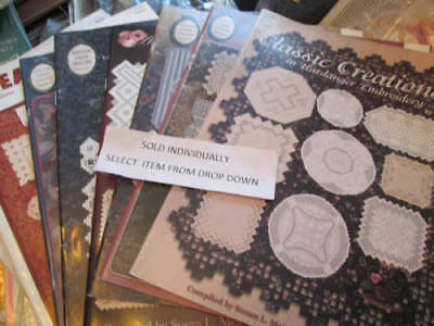 Hardanger Embroidery Book Your Choice- Compiled By Meier, Watnemo & Others