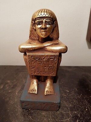 Rare Antique Ancient Egyptian scribe Block of stone Hiroglyphics 1750-1670BC
