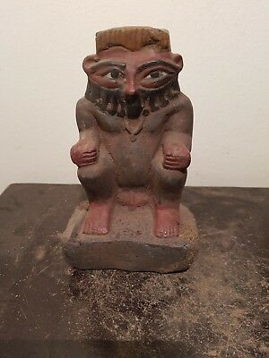 Rare Antique Ancient Egyptian Statue God Bes protecter home women1780-1690BC