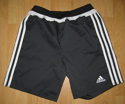 ADIDAS Climalite Soccer Athletic Shorts-Boys-Girls 9-10 Size S-Small-140 cm