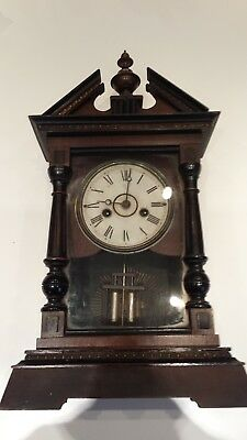 JUNGHANS PENDULUM MANTLE/SHELF CLOCK circa 1913