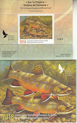 Canada MNH Quebec Conservation 2018   DQ87