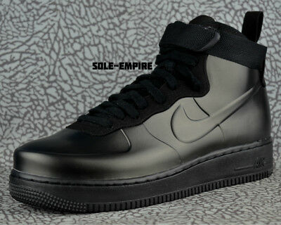 timeless design fb9d7 14976 Nike Air Force 1 Foamposite Cup AH6771-001 Triple Black Men s NEW IN BOX DS