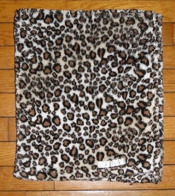 Blankets and Beyond Cheetah Leopard Animal Print Lux Security Blanket Lovey