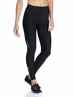 Skins A200 Women's Thermal Compression Long Tights, Extra Large, Black/Black