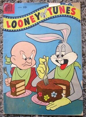 Comic Book: LOONEY TUNES. No. 197. 1958 March. Bugs Bunny. Mary Jane & Sniffles.