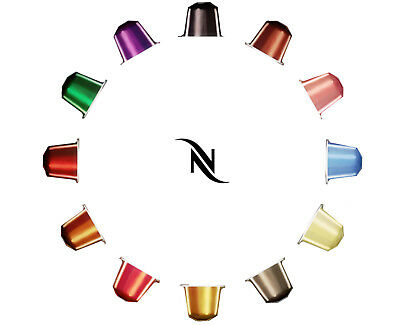 NEW Nespresso Coffee Pods Tablets 10 Capsules Per Set **FREE AU SHIPPING!**