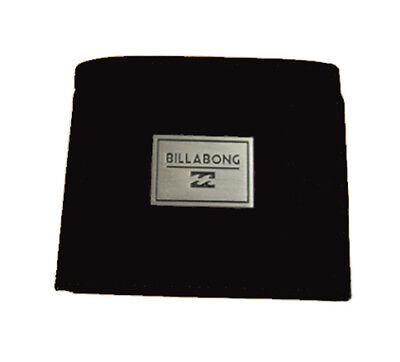 Wallet Leather Billabong Black New S Mens Tri Fold Gift New Men Radius Rrp Tags