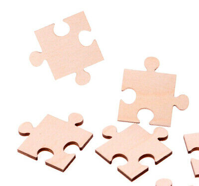 Wooden Jigsaw Puzzle Pieces Laser Cut Plywood Jigsaw Craft Blank shapes