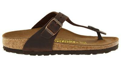 b74c463adda0 BIRKENSTOCK GIZEH HABANA Oiled Leather -  98.88