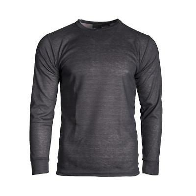 Outlast Men's Premium Smart Fabric Thermal T-Shirt Motorcycle Long Sleeved Top