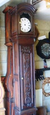Antique French Long Case Clock - Empty Case Only